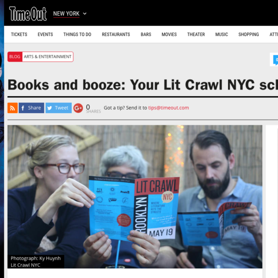 TONY - Lit crawl fall 2014 screen shot