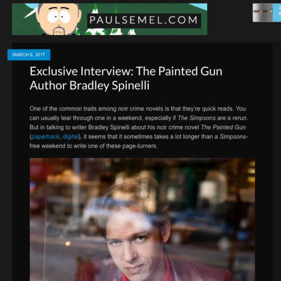 Paul semel -interview screenshot